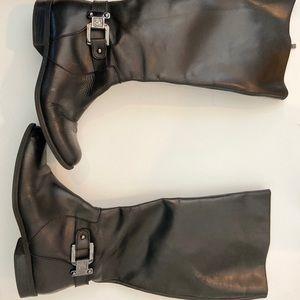Anne Klein iflex Women Riding Boots Leather Sz 6